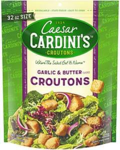 Cardini's Caesar Cardini's Garlic & Butter Croutons Garlic & Butter