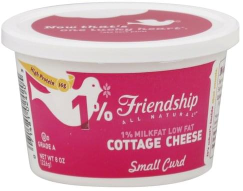 Miraculous Friendship Low Fat Small Curd 1 Milkfat Cottage Cheese Home Interior And Landscaping Fragforummapetitesourisinfo