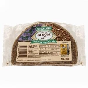 Rubschlager Bread Flax, 100% Rye