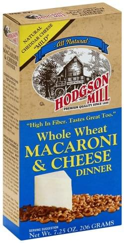 Hodgson Mill Whole Wheat Macaroni & Cheese Dinner - 7.25 oz