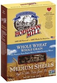 Hodgson Mill Shells Medium, Whole Wheat