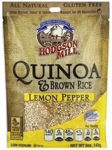 Hodgson Mill Quinoa & Brown Rice Lemon Pepper