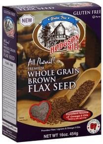 Hodgson Mill Flax Seed Whole Grain, Brown