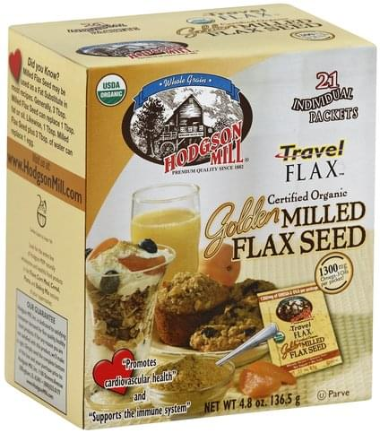 Hodgson Mill Golden Milled Flax Seed - 4.8 oz
