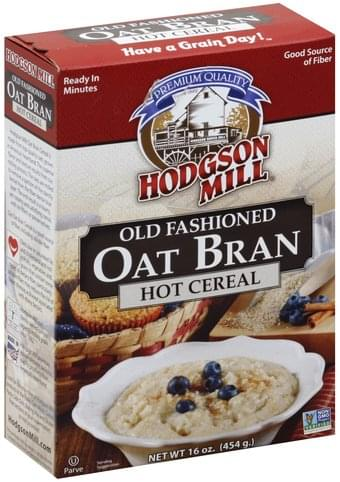 Hodgson Mill Old Fashioned Oat Bran Hot Cereal - 16 oz