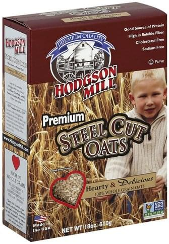 Hodgson Mill Premium Steel Cut Oats - 18 oz