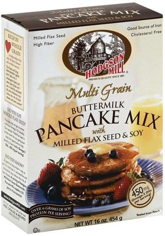 Hodgson Mill Buttermilk, Multi Grain Pancake Mix - 16 oz