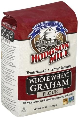 Hodgson Mill Whole Wheat Graham Flour - 5 lb