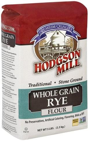 Hodgson Mill Whole Grain Rye Flour - 5 lb
