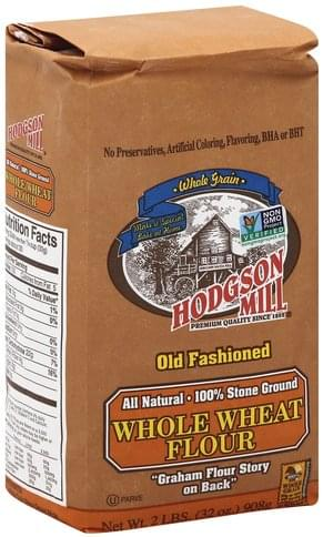Hodgson Mill Whole Wheat Flour - 32 oz