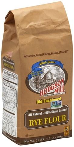 Hodgson Mill Whole Grain Rye Flour - 32 oz