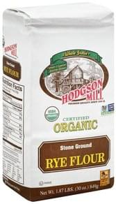 Hodgson Mill Flour Stone Ground, Rye, Organic