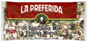 La Preferida Soup Mix 16 Bean
