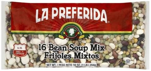 La Preferida 16 Bean Soup Mix - 16 oz