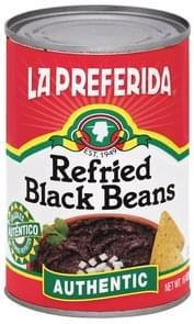 La Preferida Black Beans Refried