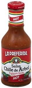 La Preferida Salsa Chile de Arbol, Hot