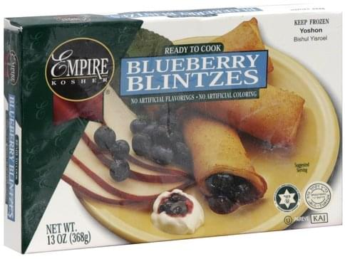 Empire Blueberry Blintzes - 13 oz