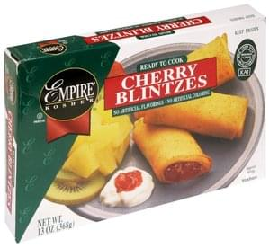 Empire Kosher Blintzes Cherry