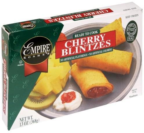 Empire Kosher Cherry Blintzes - 13 oz