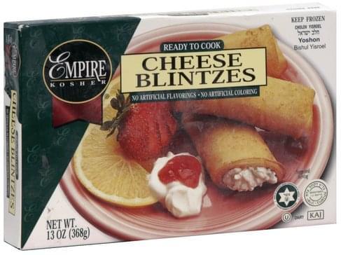 Empire Cheese Blintzes - 13 oz