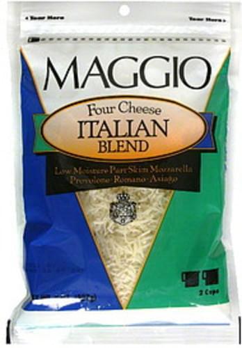 Maggio Four Cheese Italian Blend Cheese - 8 oz