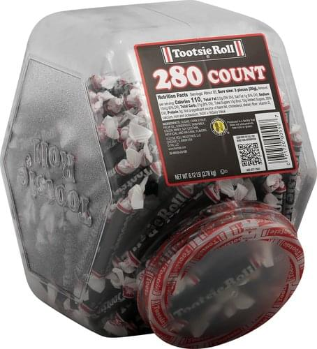 Tootsie Roll Candy - 280 ea, Nutrition