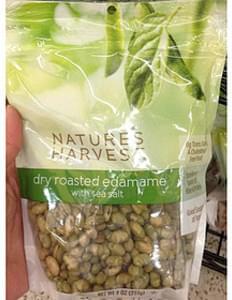 Nature's Harvest Dry Roasted Edamame with Sea Salt