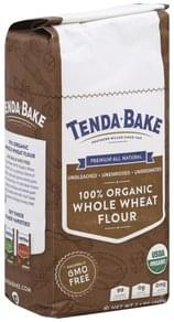 Tenda Bake Flour 100% Organic, Whole Wheat