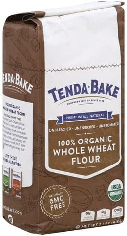 Tenda Bake 100% Organic, Whole Wheat Flour - 2 lb