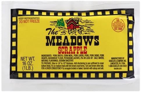 Kunzler The Meadows Scrapple - 16 oz
