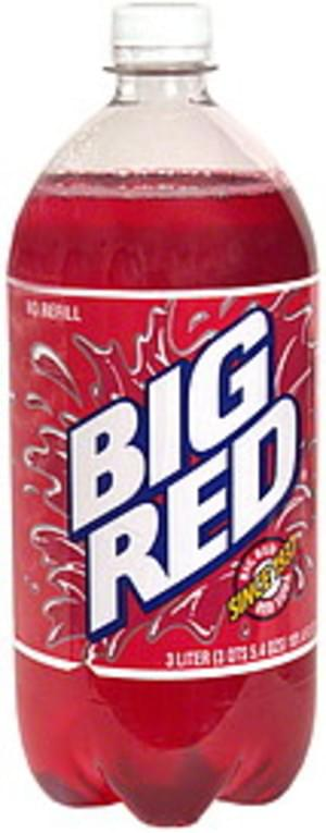 Big Red Red Soda - 3 l