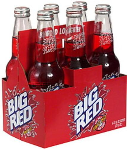 Big Red Red Soda - 6 ea