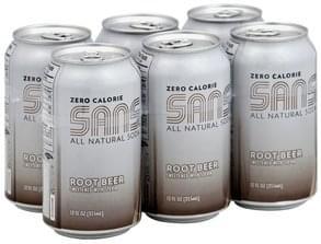 Sans Root Beer Zero Calorie
