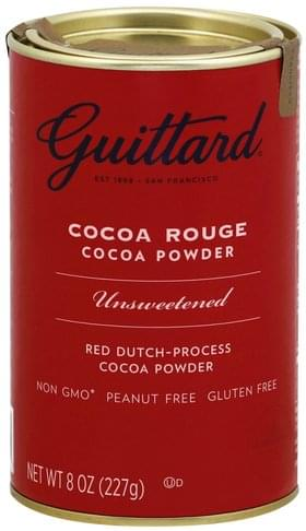 Guittard Cocoa Rouge, Unsweetened Cocoa Powder - 8 oz