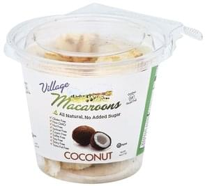 Village Macaroons Macaroons Coconut