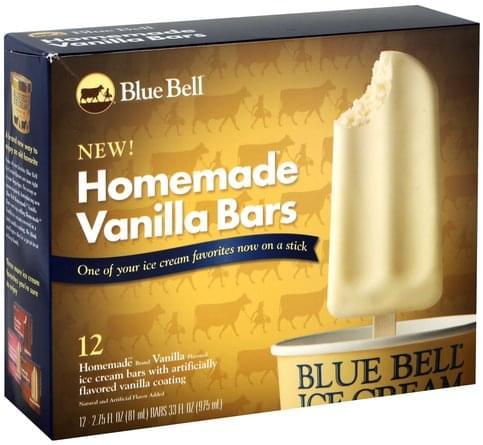 Blue Bell Homemade Vanilla Ice Cream