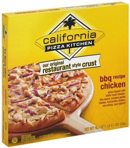 California Pizza Kitchen Restaurant Style Crust Bbq Chicken