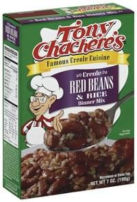 Tony Chacheres Dinner Mix Creole Red Beans & Rice