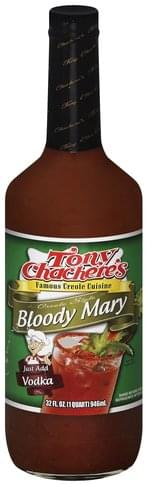 Tony Chacheres Creole Style Bloody Mary - 32 oz