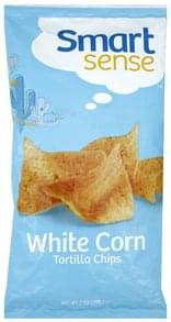 Smart Sense Tortilla Chips White Corn