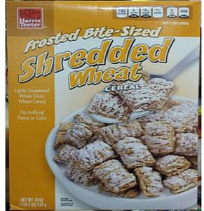 Harris Teeter Cereal Shredded Wheat, Bite-Size Frosted