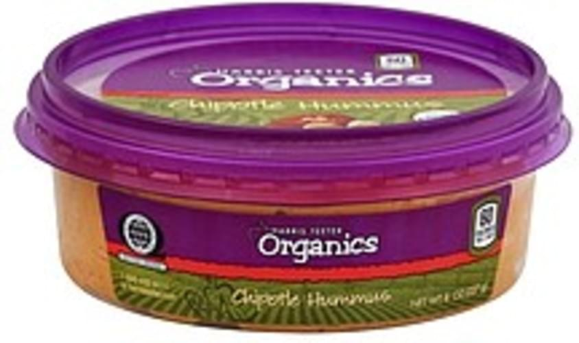 Harris Teeter Organic, Chipotle Hummus - 8 oz
