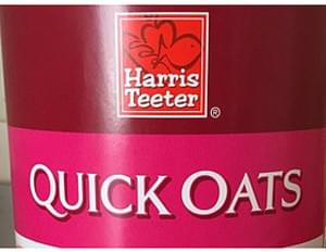 Harris Teeter Quick Oats