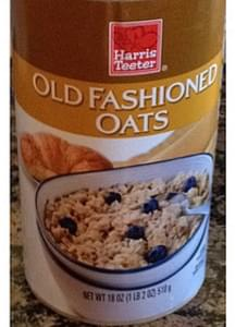 Harris Teeter Old Fashioned Oats