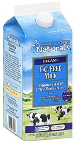 Harris Teeter Milk Fat Free, Organic
