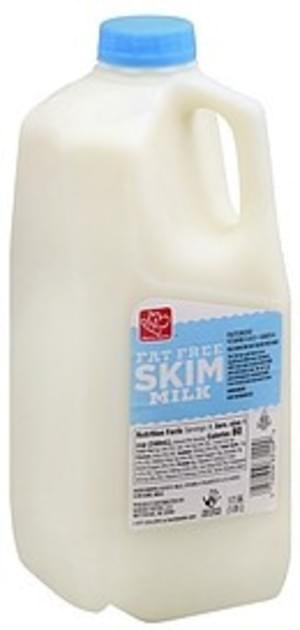 Harris Teeter Fat Free, Skim Milk - 0.5 gl