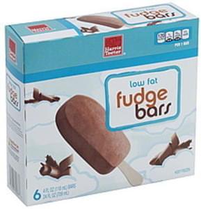 Harris Teeter Fudge Bars Low Fat