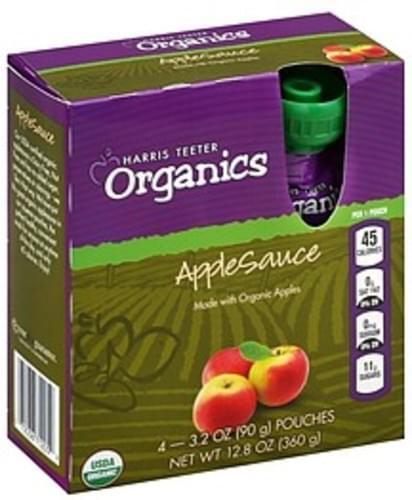 Harris Teeter Applesauce - 4 ea