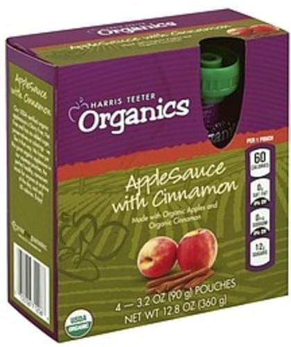 Harris Teeter with Cinnamon Apple Sauce - 4 ea
