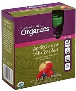 Harris Teeter Apple Sauce with Berries